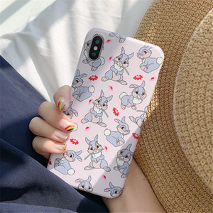Japanese Cartoon cute rabbit doll Phone Case For iPhone XS 11 Pro MAX case silicone cover For iPhone 7 7Plus 6s 8 Plus X XR Case