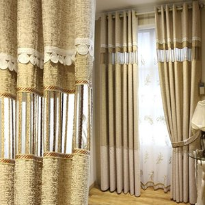 Modern Stripe  Blackout curtain for Window Curtains for Living Room Elegant Drapes European Curtains bedroom