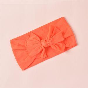 4European and American children's cute headband, baby hair accessories, super soft nylon bow headband headband wholesale4