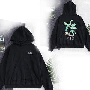 Neueste Mens Designer Pullover Lange Hülsehoodies Kokosnussbäume Schädel Bären Eulen High Street Sweatshirt Art und Weise Hoody Pullover