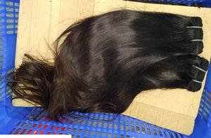 Single donor 1 bundle non-remy unprocessed 12A Asian Vietnamese Double drawn straight hair cuticle aligned weaves