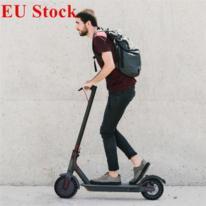 EU Stock Mini Folding Electric Scooter 8.5inch Strong Power Bicycle Scooter 7.8Ah 250W with App Commute Free Tax Electric Bicycle