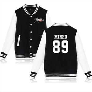 Kpop Stray Kids I Am You Idol Unisex Member Picture Jacket Coat Pop Women Hoodies Sweatshirt Hip Hop Clothes Hoodies