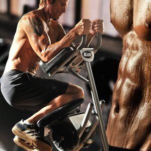 Tienda de Estados Unidos Máquina abdominal Inicio Fitness Ejercicio ABS Machine AB Roller Coaster ABS Mat Crunch Muscle Fitness Cuerpo Equipo de gimnasio Q0109