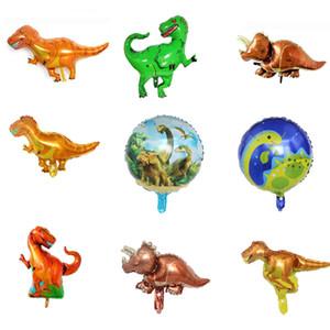 Giant 4D Helium Balloon Dinosaur Aluminum Foil Balloon Animal Balloon Children's Birthday Party Supplies Toy Gift Decoration