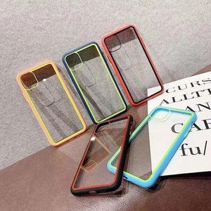 Designer di lusso Clear Phone Cases Cover Indietro Acrilico Protezione trasparente per iPhone 12 PRO 11 Pro Max X XS XR XS Max 6S 6Plus 7 7p 8 8Plus