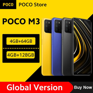"Versione globale Poco M3 Smartphone Snapdragon 662 4 GB 64 GB / 128 GB 6.53 ""Display 6000mAh Batteria 48MP Camera"