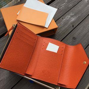 louis vuitton LV in pelle per le donne a più designer colore breve supporto di carta portafogli borsa della signora classica tasca con cerniera con A4 di alta qualità scatola