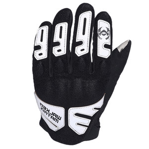 Motorcycle riding gloves Breathable Mesh Tactical Gloves Touch screen Sports Outdoor Motorcycle Full Finger Gloves Palm non-slip silicone