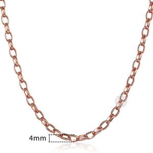 Uomo Donna Rosa Gnn1 45 centimetri Per Lumaca doni collana in oro 585 donne 60 centimetri di collegamento Chain Jewelry 50 centimetri Curb tsetJXY queen66