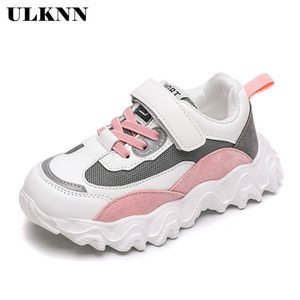 ULKNN Mesh Girls Sneakers For Children Casual Shoes Kids Sneakers Boys Shoes Running Footwear School Trainers sapato infantil 1007