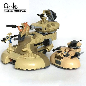 MOC-10371 AAT Tank MOC Building Blocks Bricks DIY Toys for children Game Weapon Weapon Model Compatible with Star Plan Wars X0102