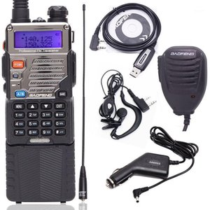 Walkie Talkie Baofeng UV-5RE 8W 강력한 3800mAh 10km 긴 범위 UHF VHF 밴드 CB UV5RE의 UV5RE의 UV5RE의 업그레이드 - 휴대용 햄 라디오 1