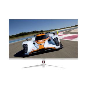 HUGON 27 inch 2K White LCD TFT Monitor PC 60 75Hz HD Gaming Computer 2560×1440 Flat panel display DP HDMI Interface