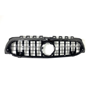 1 piece Black ABS Car Front Grilles For B-enz A Class W177 GT Style Replacement Original Kidney Mesh Grille