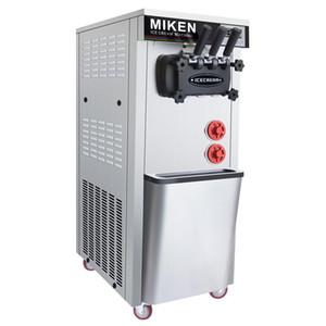 Commercial mini soft ice cream machine 9L intelligent automatic ice cream machine