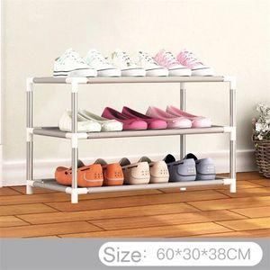 A-3 4 5 6 8 Layers Dustproof Assemble Shoes Rack DIY Home Furniture Non-woven Storage Shoe Shelf Hallway Cabinet Organizer Holder Y200429