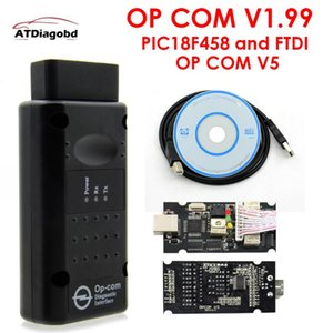 2020 v1.99 OPCOM V1.95 Professional Diagnostic Tool For OP COM OP-COM With PIC18F458 Firmware V1.59 Auto Scanner