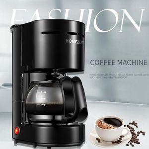 PP Grade 0.65L 4-6 Cups Filter Coffee Maker Mini Household Drip Coffee Machine1