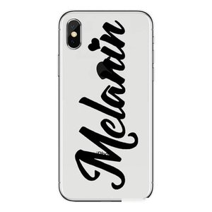 Fashion Black Girl Soft TPU Phone Cover 2bunz Melanin Poppin Aba Hard Plastic Phone Case for Apple 7 8PLUS XR X MAX 11