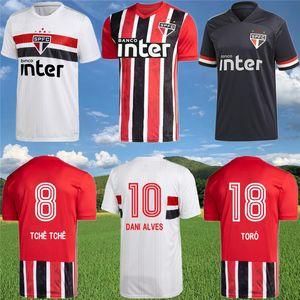 2020 2021 Sao Paulo Futebol Clube Fußball Jerseys 20 21 Sao Paulo Home Away dritte Fußballhemd 70. Jahrestag Jersey Erwachsener Anzug
