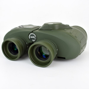 FreeShipping 10X50 Оптика Военный бинокулярный телескоп водонепроницаемый противоударный Зрительные Scope с компасом для кемпинга Путешествия Охота Boshiren