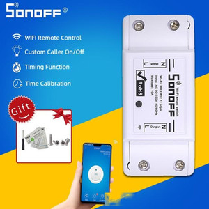mart Automation Modules Sonoff Mini DIY Basic Wifi Switch 220V Module Light Timer RF Interruptor Switch Wifi Smart Home For Alexa Ewelin...