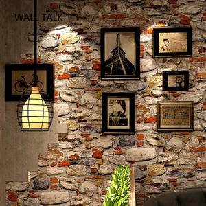 3d Bricks mural PVC Stone Wall Paper for Home Decor Living Room Bedroom TV Background Vinyl Paper