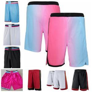 Miami.CalorHomens 2019/20 icon.Edição Swingman Jersey Basquetebol Shorts Black