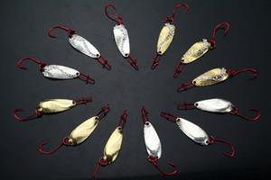 20pc Lot Mini Fishing Lures Spoon Hooks Baits 1.8g+-0.2g
