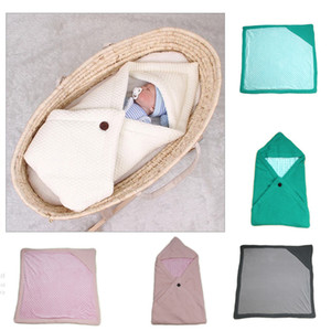 Hot sale baby knitted thickened warm anti kicking blanket