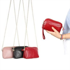 Genuine Leather Women Clutch Bag Ladies Shoulder Bag Crossbody Bags For Women Small Phone Bags Girl Evening Party Handbags