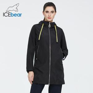 İcebear Kadın bahar rüzgarlık kalite rüzgarlık moda kadın ceket kadın marka giyim GWF7I 201.016 womens