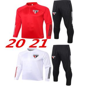 2021 2020 Formação de Futebol de Paulo Homens São Uniforme 20 21 Football Sportswear conjunto uniforme