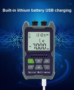 Mini 4 in 1 Multifunction Optical Power Meter Visual Fault Locator Network Cable Test optical fiber tester 5km 15km 30 KMVFL1