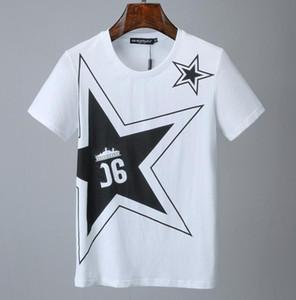 Karanlık Bölüm erkek Yaz Yeni Trend Kısa Kollu T Gömlek erkek Avrupa ve Amerikan Versiyonu Gevşek Hip-Hop Şeytan Baskı Yarım Kollu AAVV