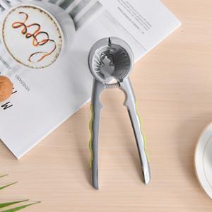 A2795 Funil em forma de cracker de noz de liga de zinco multifuncional nozes noz walnut pliers walnut gadgets de cozinha