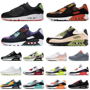 nike air max 90 airmax 90s Camo Premium SE chaussures de course hommes femmes hommes formateurs Sports Outdoor Sneakers