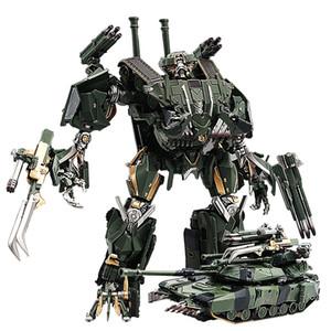 Transformation Brawl BMB Black Mamba LS10 LS10 Legierung Metall Movie Film voyager Ausgabe Action Figure Roboter verformter Spielzeug Geschenke