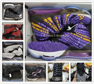Arrival James Mens Basketball shoes Equality Oreo Bred Lebron 17 Battleknit cushion Baskets Sports Sneaker Men Trainers Size 7-12