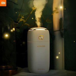 Xiaomi Daewoo Mini Air Humidifier 260ml Large Capacity Mist Diffuser Usb Charging For Car Office Home