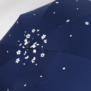 يادا عالية الجودة ماجيك تغيير اللون بعد زهرة المياه مظلة المطر مشمس ممطر مظلة للنساء للطي المظلات Ys631 bbyUuL