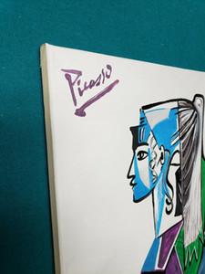 Pablo Picasso la decoración del hogar Artesanías / impresión de HD pintura al óleo sobre lienzo de arte pared de la lona cuadros para decoración de la pared 201114