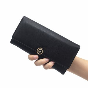 Fashion Women Wallet Brand PU Leather Long Purse Solid Color Hand Made Multiple Cards Holder Clutch Bag Hasp Standard Wallet