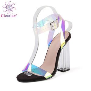 2020 New African Ladies Sexy High Heels Pumps Black Rhinestones Design Ladies Women Pumps Nigerian Sandal Shoes for Parties