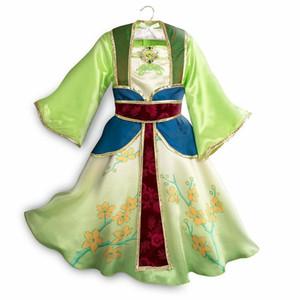 Muababy Китайская принцесса Mulan одеваются для девочек.
