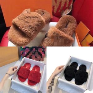 YQO67 Frauen Hausschuhe Designer Stylist Schuhe Luxuriöse Bedruckte Baumwolle Slipper Gestickte Baumwolle Wohnung Hochwertiger Anhänger Slipper Designer