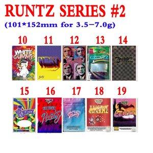 RUNTZ 3.5G Mylar Bolsos Burzt Packaging Holographic Zourz Tark Pastel Divine Runtz Obama 420 Bolsas de embalaje DSFS
