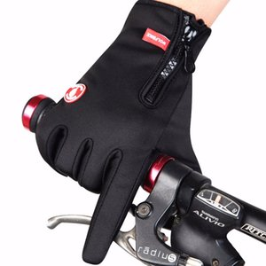 1Pair Winter Outdoor Sports Bicycle Motorcycle Gloves Warm Thermal Windproof Snowboard Touch Hands Warmer Hot Sale