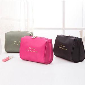 New Large Capacity Women Makeup Bag Travel Cosmetic Bag Female Storage Toiletry Kit Case Make Up Necessaries Organizer
